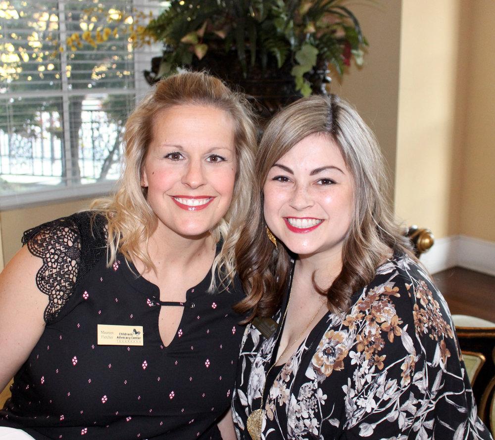Maureen Fletcher and Carly Rhyne