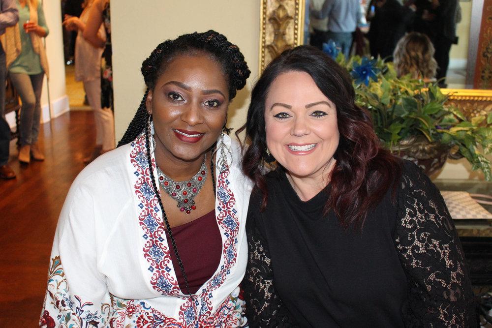 Tiffany Bonner and Tiffany McFarland