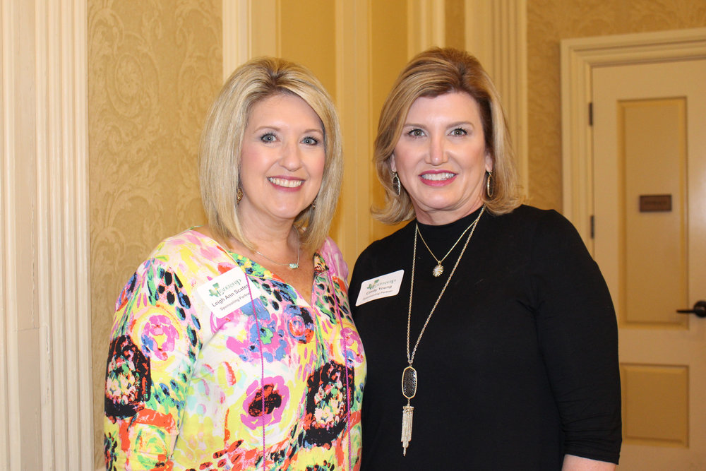 Leigh Ann Scates and Cindy Young