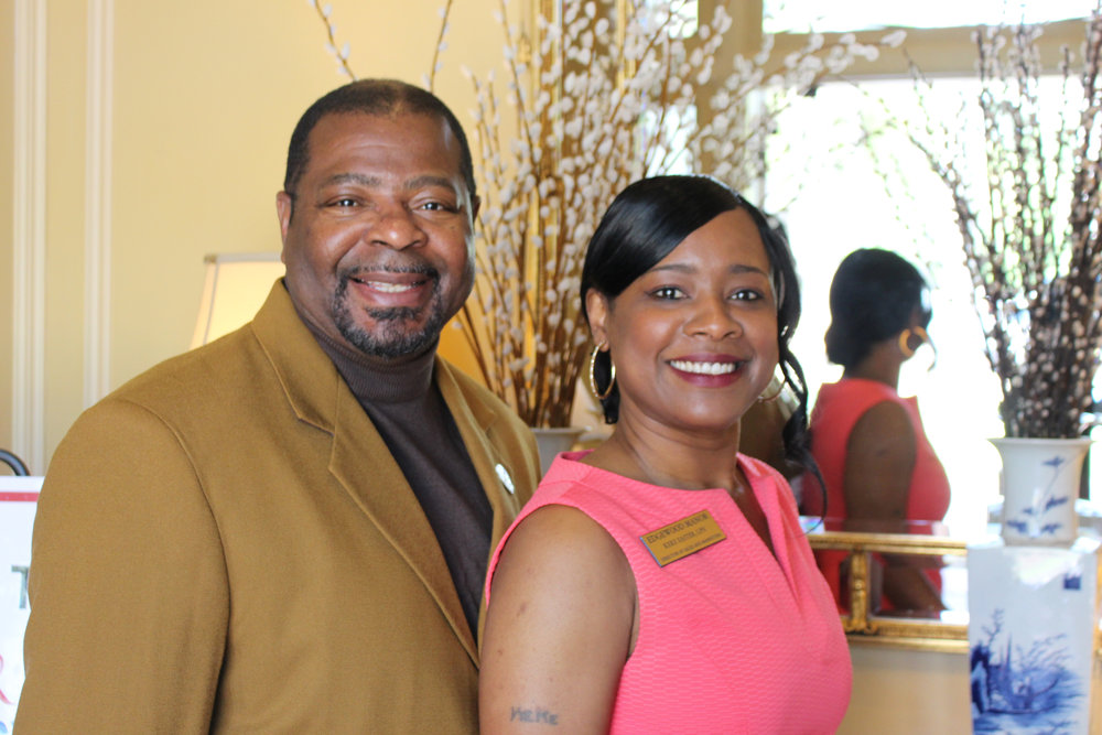 Warren Smith and Keke Easter