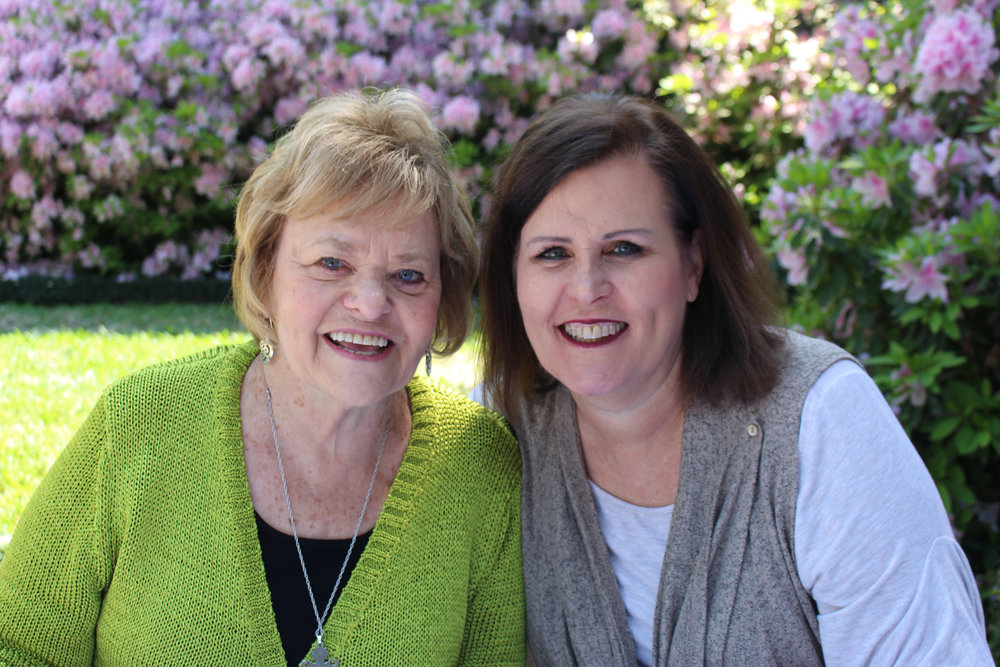 Mary O'Farrell and Stephanie Maddox