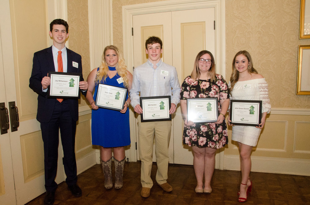 Jay Williamson, Kate Todd, Will Norton, Ali Milligan and Allie Graves