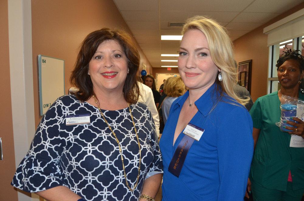 Karen Lucas and Veronica Jones