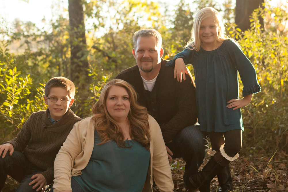 Gavin, Trish, Jason and Sadie a couple of years ago at Bringle Lake. (Photo by Erin Walker Photography)