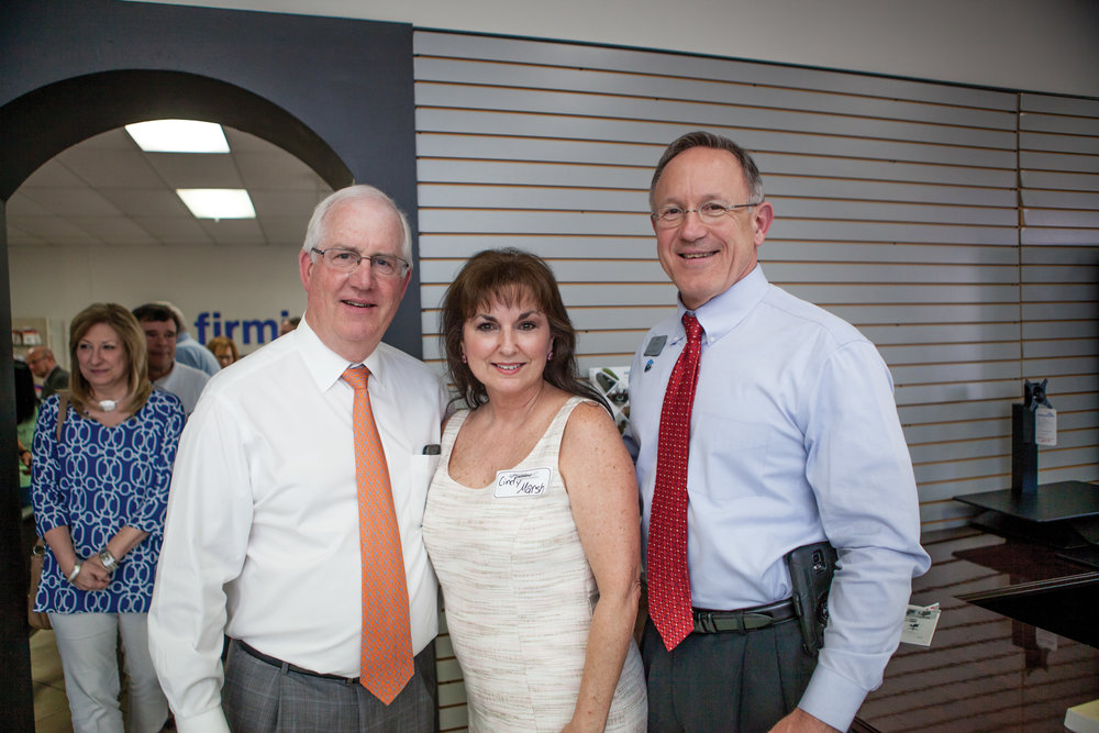 Don Morriss, Cindy Marsh and James Bramlett