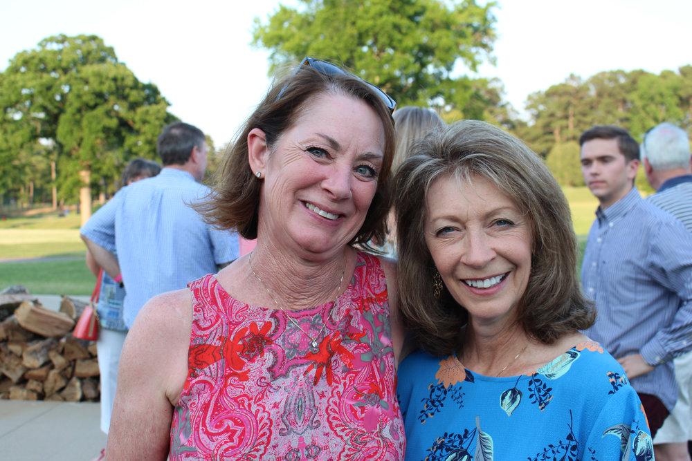 Lucy Sarrett and Bonnie Lamb