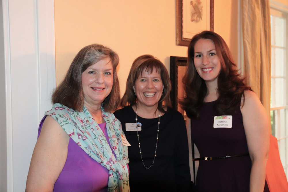 Camille McGinnis, Sharon Burdine and Katrina McGinnis
