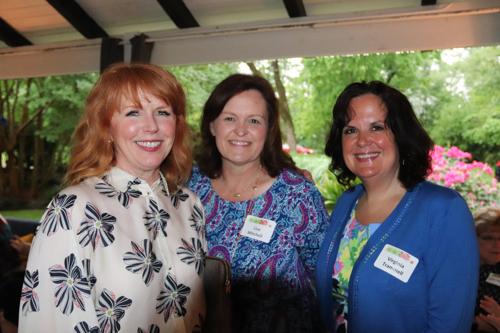 Hon. Caroline Craven, Lisa Mitchell and Virginia Trammell