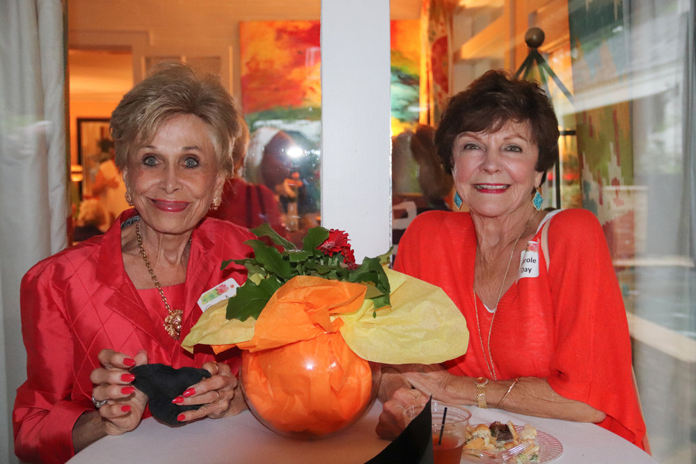 Jane Qualls and Carole Day