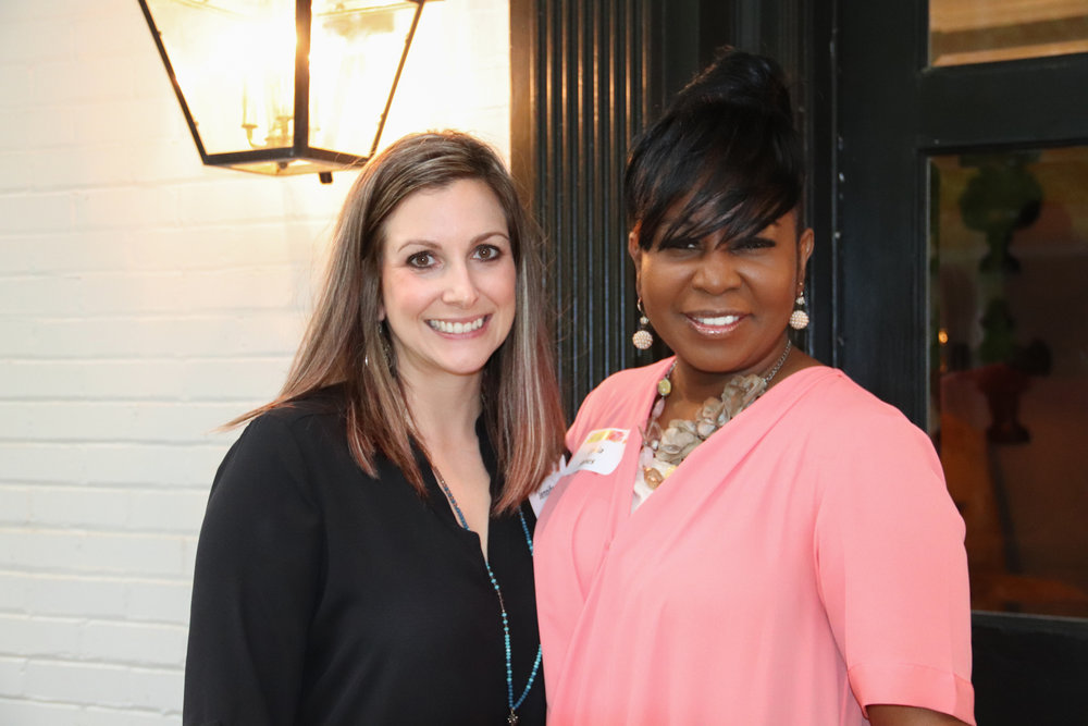 Jenn Lockman and Lekia Jones