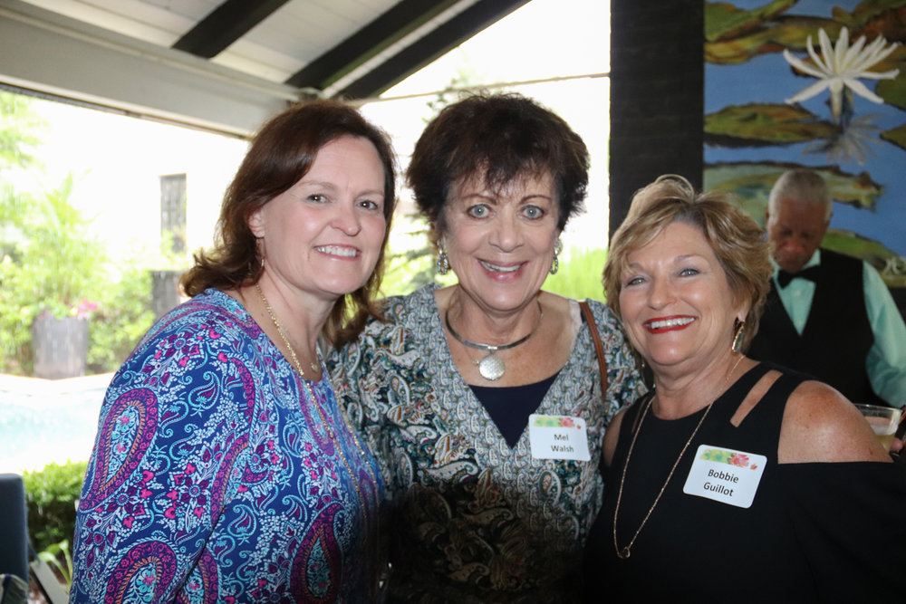 Lisa Mitchell, Mel Walsh and Bobbie Guillot