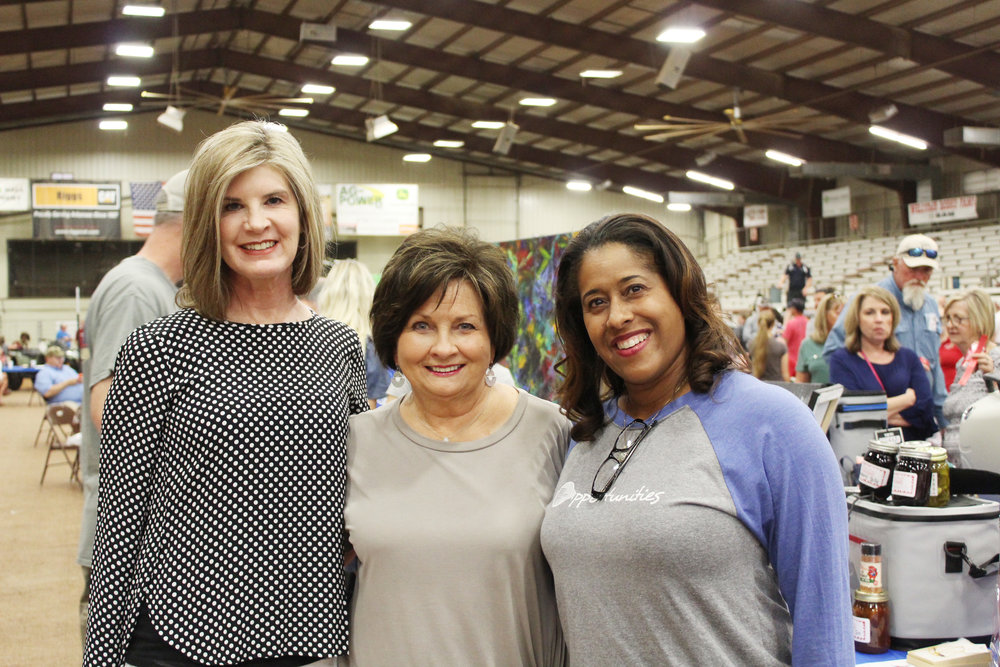 Jamye DeHaan, Diane Green and Treva West