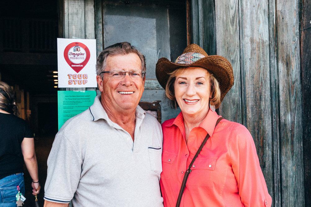 Floyd Fenix and Nancy Edwards