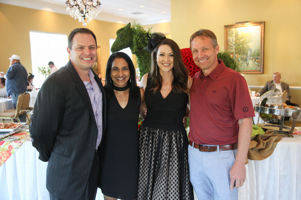 Ben Mayo, Anitha Kurichety, Stacy Mayo and Billy Power