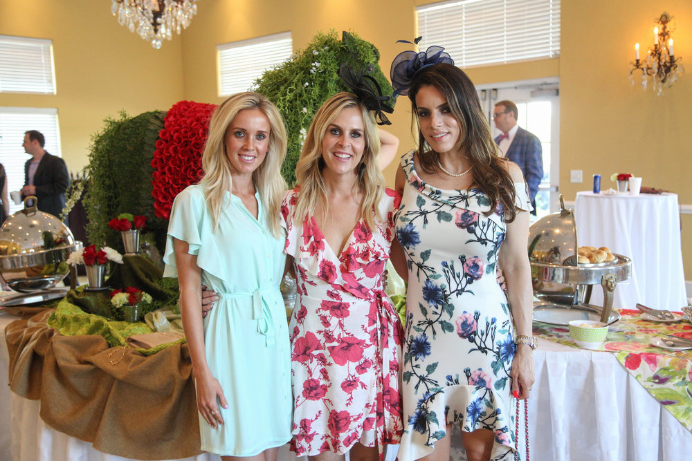 Nicole Sell, Miranda Baugh and Layla Hazin
