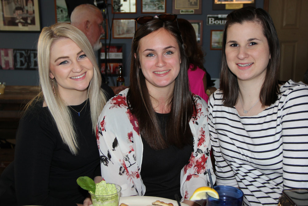 Haley Buffington, Kendal Rowe and Kaitlyn Flanagan