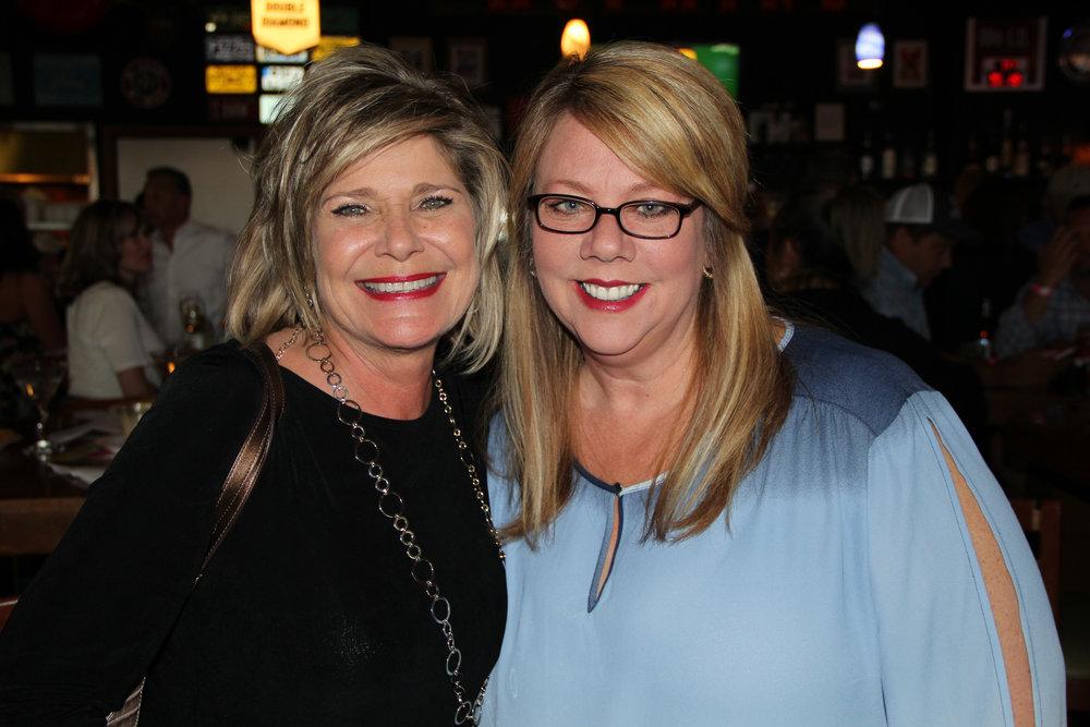 Elaine Chriestenson and Michelle Walraven