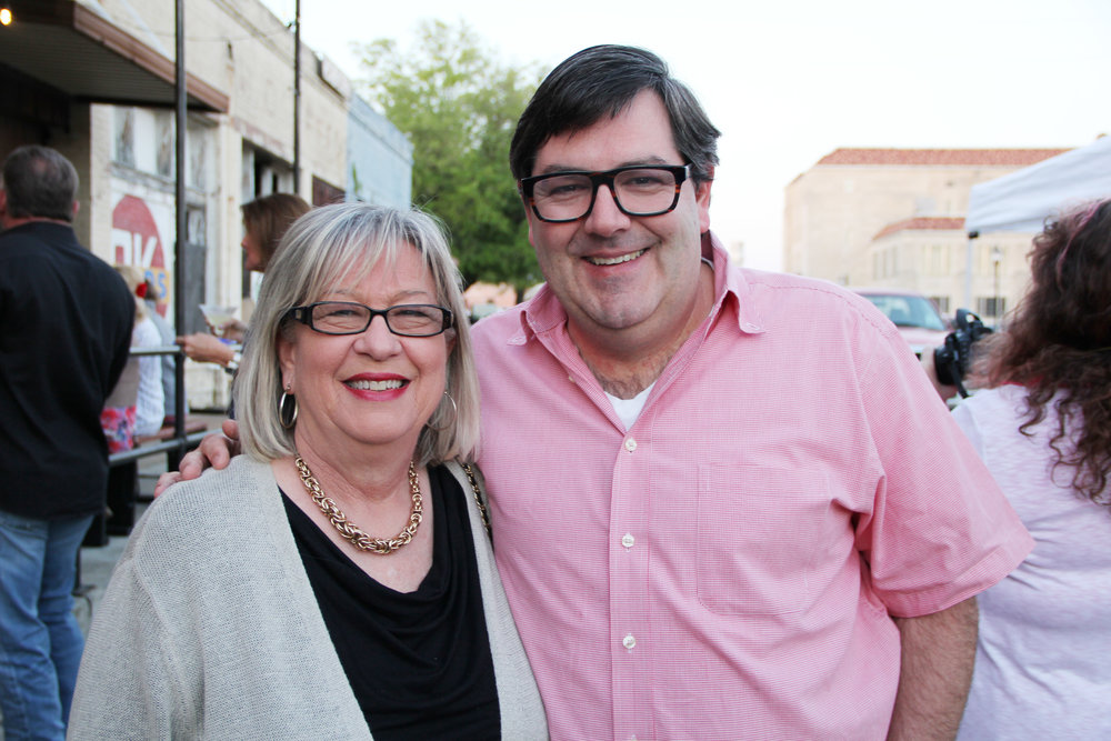 Susan Cogell and Eric Cain