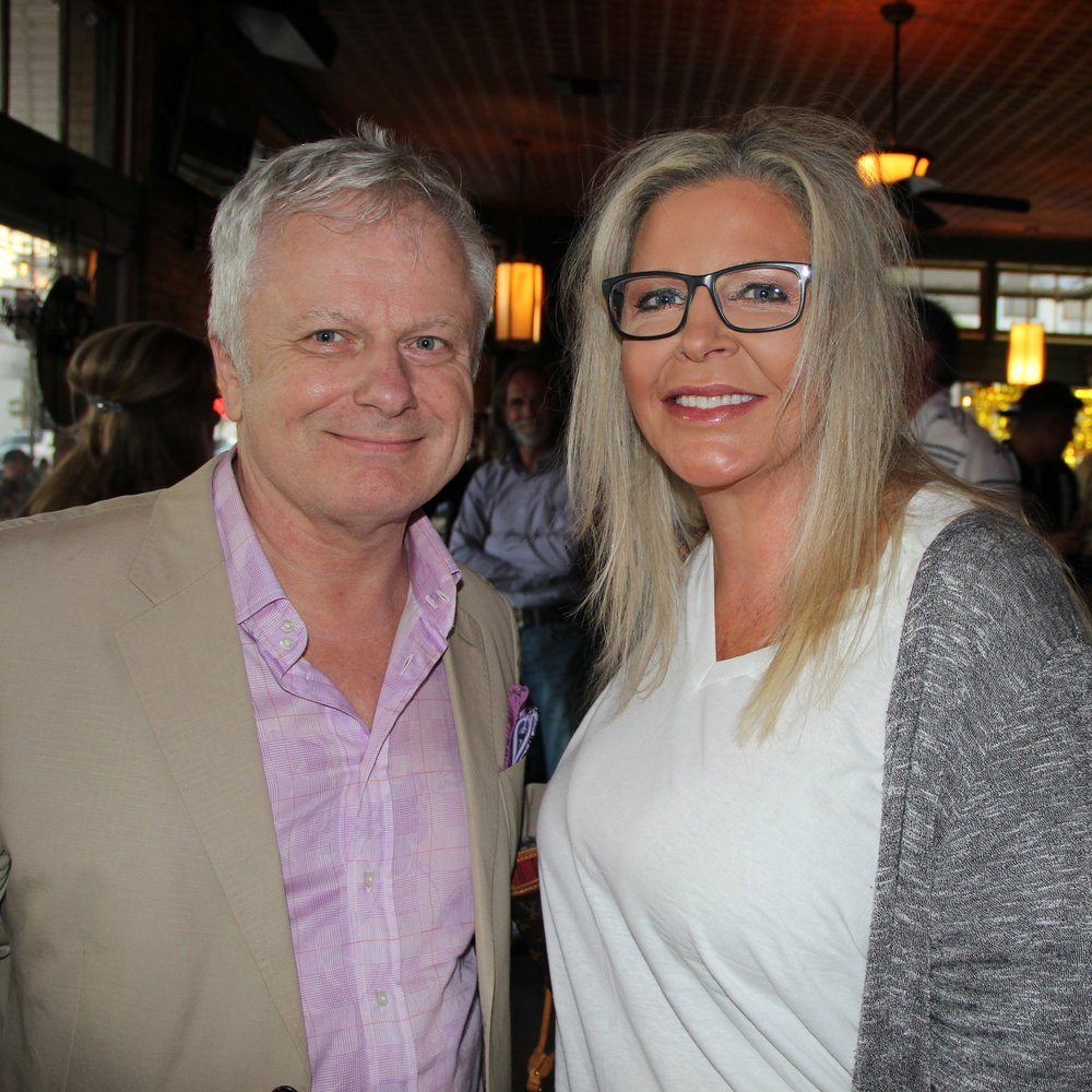 Jeff Brown and Lisa Rich