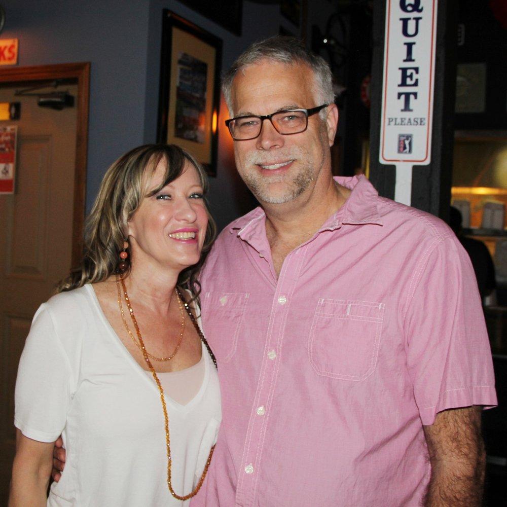 Pamela and Dave Jones