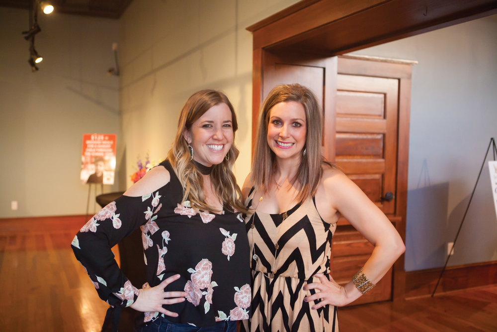 Courtney Boeckmann and Jenn Lockman