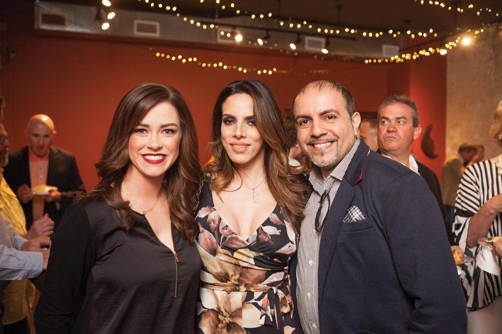 Kayla Neeley with Layla and Dr. Hesham Hazin