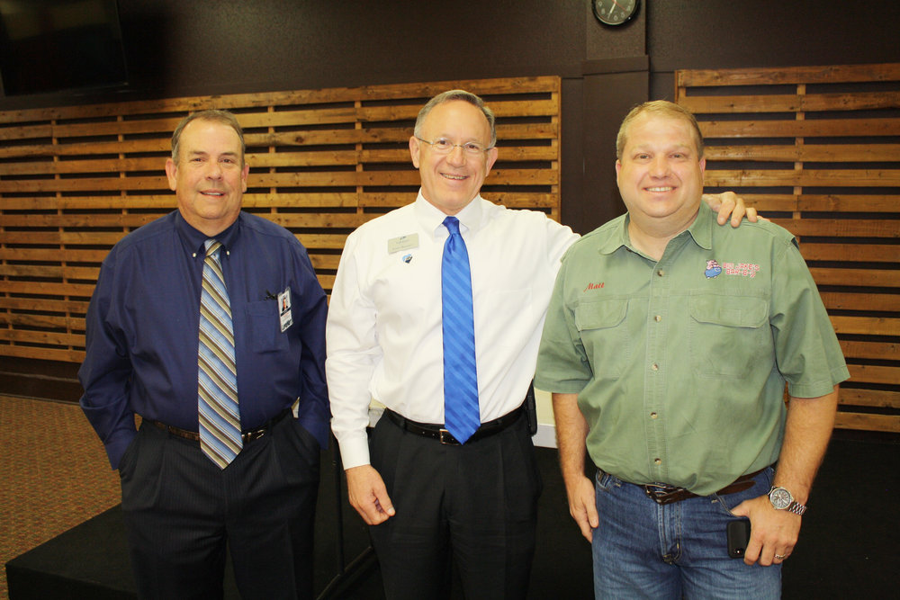 David Baumgardner, James Bramlett and Matt Palmer