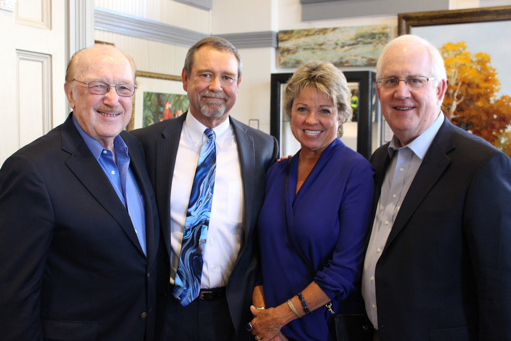 Dr. Jack Smith, John and Suzi Mercy and Don Morriss