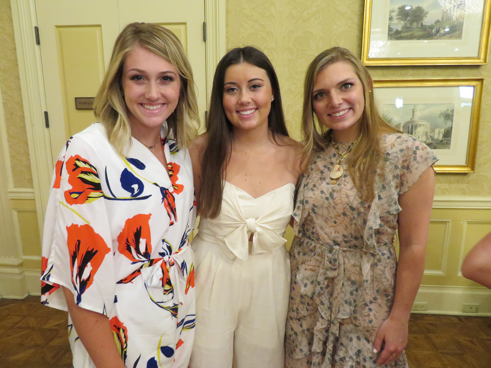 Linley Murdock, Mary Claire Paddock and Cathryn Payne