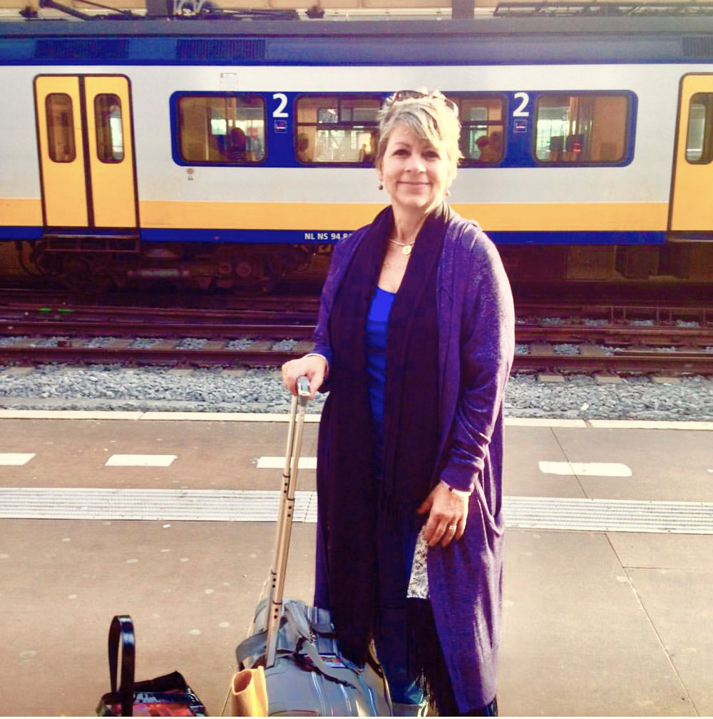 In early 2015, Agnes headed from Amsterdam to Maastricht, the Netherlands, to visit her daughter, Sara.