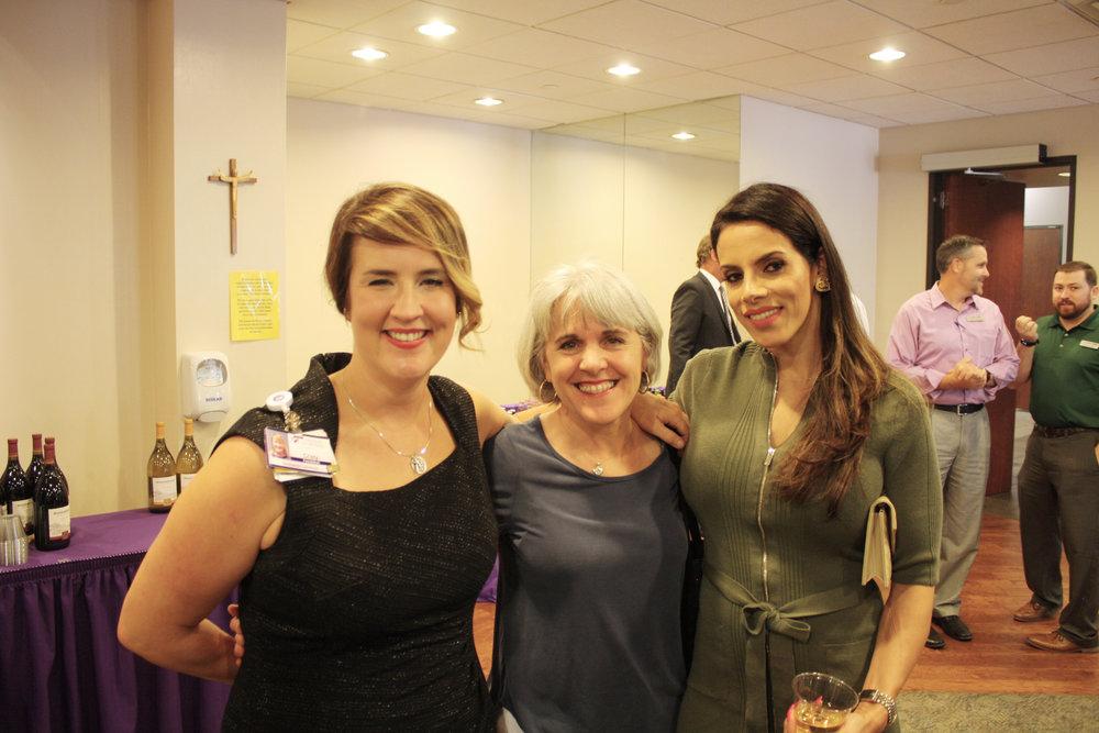 Cristy Lummus, Michelle Karam and Layla Hazin