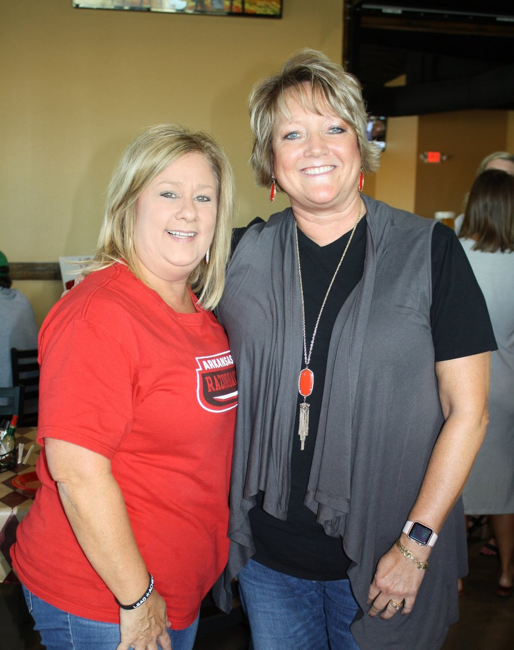 Patty McDonald and Cindy Snell
