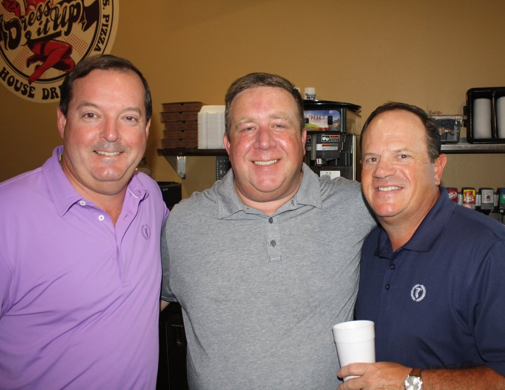 Reese Shuffield, Dave White and Robee Carter