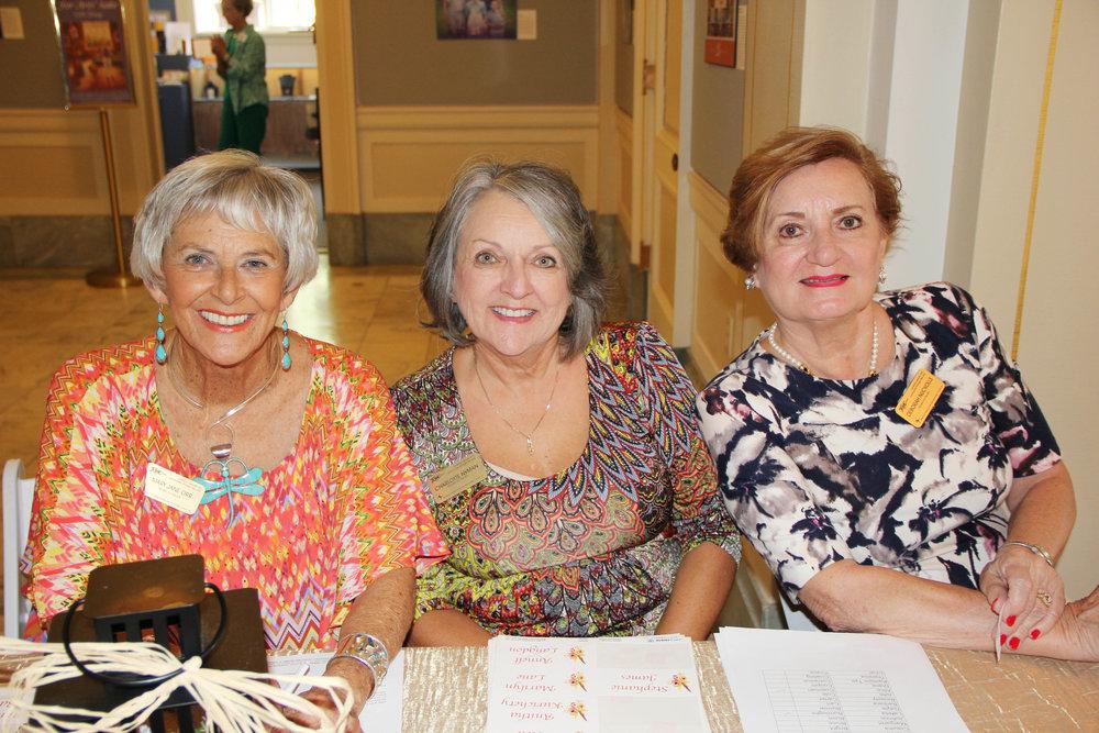 Mary Jane Orr, Charlotte Nyman and Deborah Nuckolls