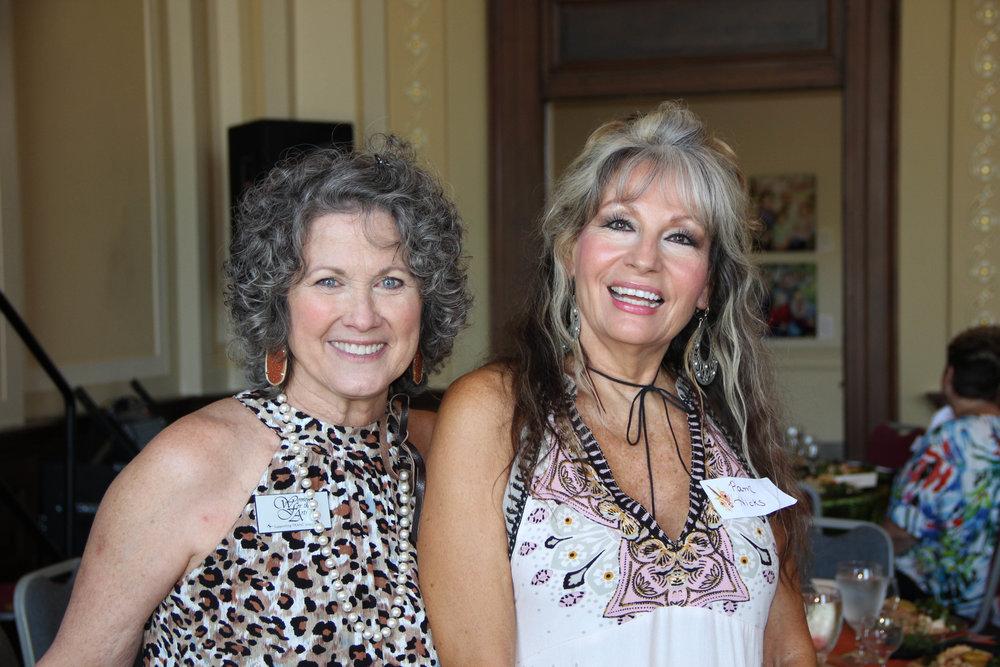 Judy Jones and Pam Hicks
