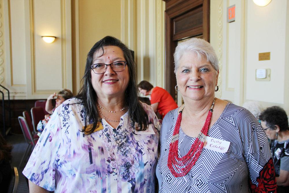 Debbie Gilliam and Betty Rateliff