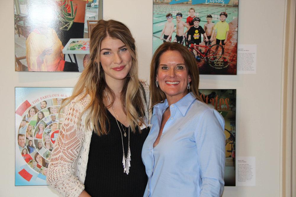 Katelyn Peek and Mignon Hervey