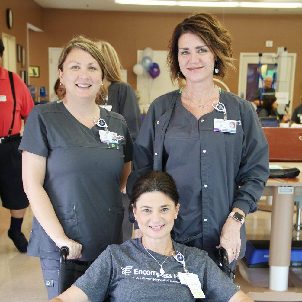 Tracy Graf, Leah Higdon and Deni Smith