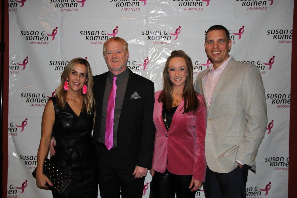 Miranda and Dr. John Baugh with Clara and Jamie Tengwall