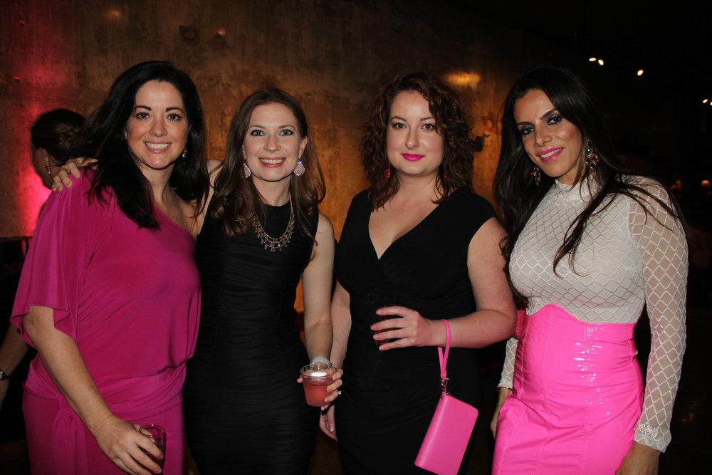 Cyenthia Page, Deedee Hayes, Sarah Umphries and Layla Hazin
