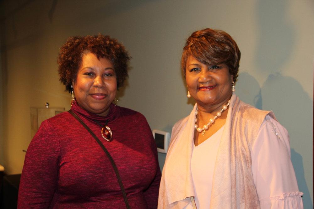 Charlotte Bradley and Rita Williams
