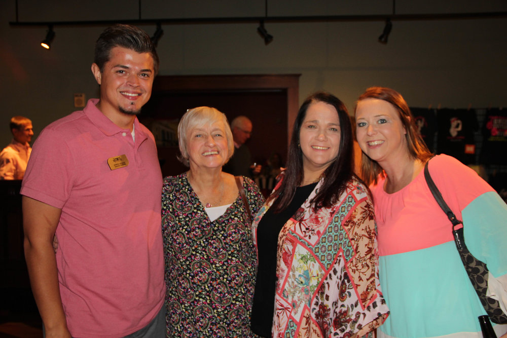 Donnie Spriggs, Sherry Stegall, Shelly Logan and Emily Bright