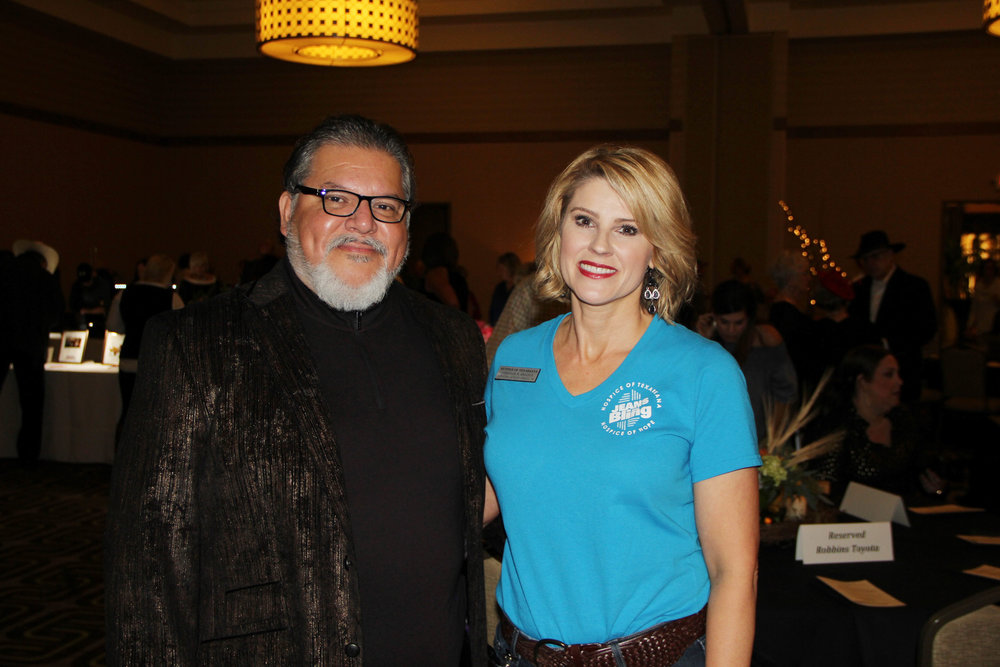 Mario Garcia and Stefanie Brazile