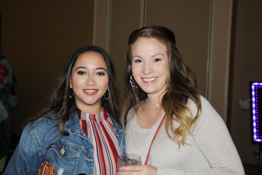 Violet Braswell and Ashlee Stavinona