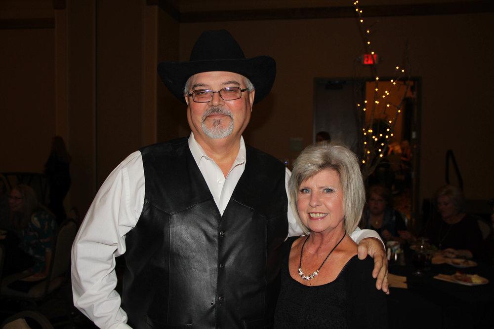 David Merritt and Barbara Stovall