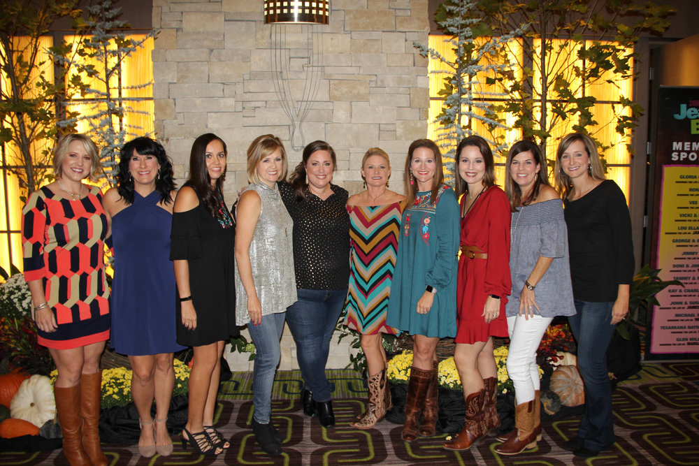 Ashly King, Jennifer Orgeron, Becky Ridenour, Melinda Henry, Kim Busby, Mendy Warner, Cara Cook, Tina Griffin, Alison Mayo and Stacy Williamson