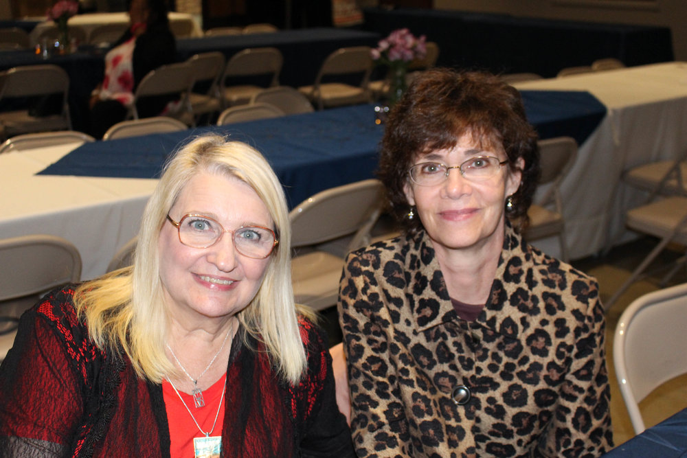 Deborah Chelette-Wilson and Anne Redelfs