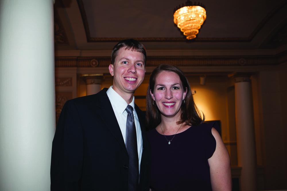 Dr. Robert and Katrina McGinnis