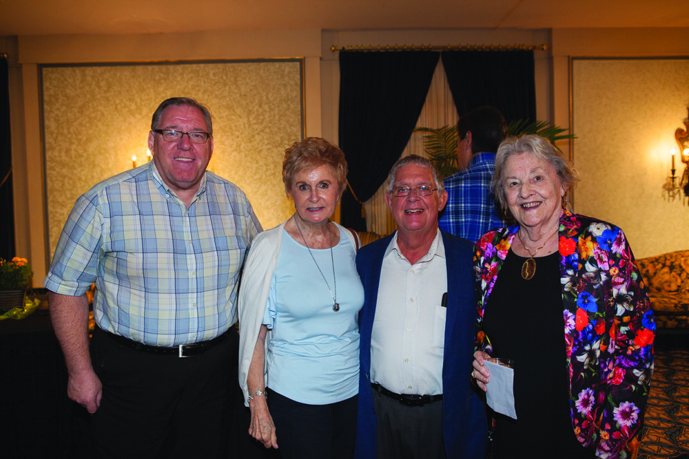 Eddie Lamb, Dr. Jo Kahler, Craig Lashford and Pam McCoy