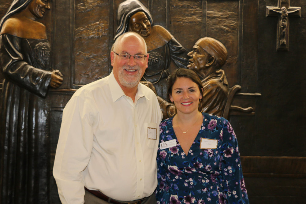 Dr. Gary Stading and Anna Powell